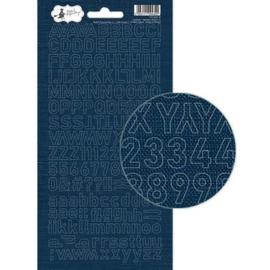 Piatek13 - Alphabet sticker sheet Soulmate 02 P13-MAT-18 10,5x23 cm