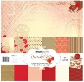 "Kaiser craft paper pack 12x12"" Remember Me"