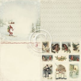 Pion Design - Winter in Swedish Lapland - Nisse - 12x12 (4x 6x6)