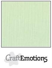 CraftEmotions linnenkarton groen 30,5x30,5cm