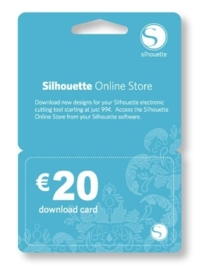 Silhouette Downloadkaart € 20,-
