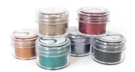Silhouette Glitter bold colors