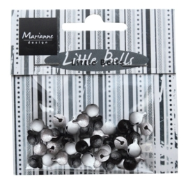 Marianne D Decoration Bells - Black & White JU0941