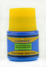 Cadence Opague Glas & Porselein verf Koningsblauw 01 049 0156 0045 45 ml