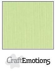 CraftEmotions linnenkarton kiwi 30,5x30,5cm