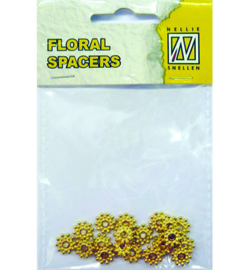 Nellie`s Choice - FLP-SP-008 - Floral Spacers - gold nr. 8