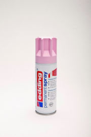 Edding 5200 permanent spray mat pastelroze (200ml)