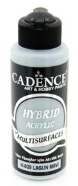Cadence Hybride acrylverf (semi mat) Lagoon blue 01 001 0039 0120 120 ml