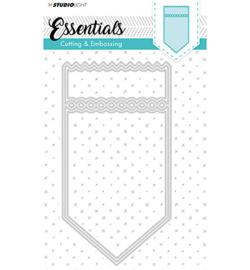 Studio Light STENCILSL117 - Embossing Die Cut Stencil Essentials nr.117