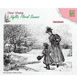 Nellie`s Choice - IFS024 - Vintage wintery scene