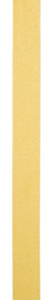Suede lint Peau de pêche geel 6MM - per meter