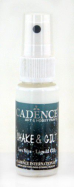 Cadence shake & gilt liquid gilt spray Zilver 01 074 0002 0025 25 ml