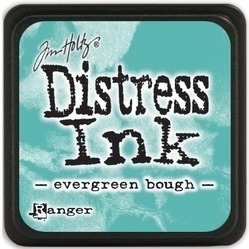 Tim Holtz distress mini ink evergreen bough