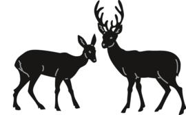 Marianne D Craftable Tiny`s Deer - CR1289