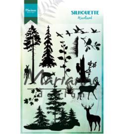 Marianne D Stempel CS1014 - Silhouette woodland