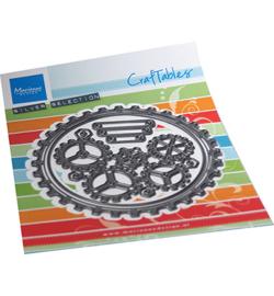 Marianne D Craftable CR1548 - Gears doily