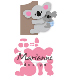 Marianne D Collectable COL1448 - Eline's koala & baby