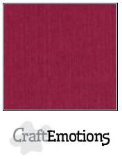 CraftEmotions linnenkarton bordeaux 27x13,5cm 250gr