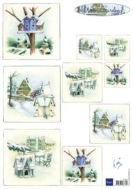 Marianne D 3D Knipvellen Tiny`s Winter Garden 1 - IT572