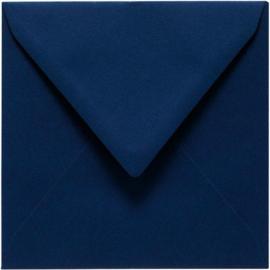 Papicolor Envelop vierk. 14cm marineblauw 105gr-CV 6 st 303969 - 140x140 mm