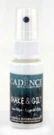 Cadence shake & gilt liquid gilt spray Parelmoer 01 074 0005 0025 25 ml