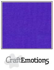 CraftEmotions linnenkarton - donkerpaars LHC-48 A4 250gr
