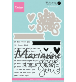 Marianne D KJ1727 - Karin's Ik denk aan jou