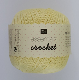 Rico Design - Essentials Crochet 20 Vanillia