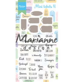 Marianne D CS1028 - Mini labels NL