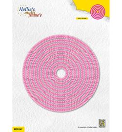 Nellie`s Choice - MFD147 - Double stitchlines: Round