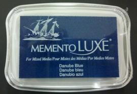 Memento inktkussen De Luxe Danube Blue ML-000-600