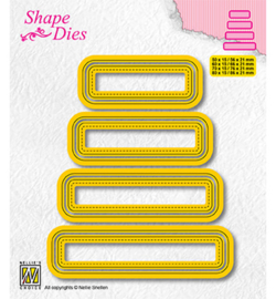 Nellie`s Choice - SD204 - Set of 4 tags-3