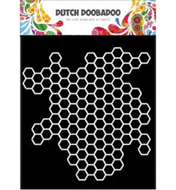 Dutch Doobadoo -470715613 - Mask Art Honeycomb