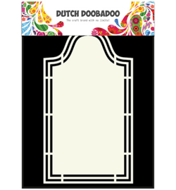 Dutch Doobadoo Shape Art Label 5