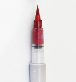 WINK OF LUNA Brush - Red Metallic inkt