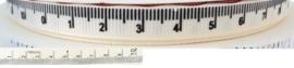 Ribbon 15mm tape measure - per meter