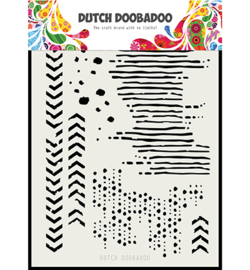 Dutch Doobadoo - 470715136 - Mask Art Grunge mix