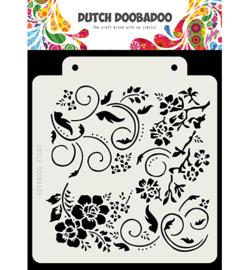 Dutch Doobadoo - 470.715.163 - DDBD Dutch Mask Art Flowers and swirls