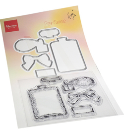 Marianne D - TC0882 - Tiny's Perfume Stamp & die Set