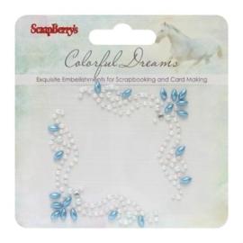 ScrapBerry's Curls Colorful Dreams 2 Pearl Swirl (SCB250001072)