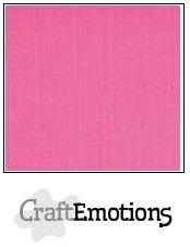 CraftEmotions linnenkarton magenta 30,5x30,5cm