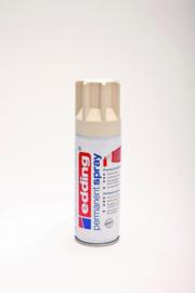 Edding 5200 permanent spray mat licht ivoorkleurig (200ml)