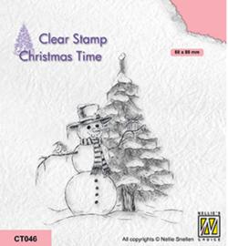 Nellie`s Choice - CT046 - Snowman
