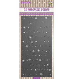 Nellie`s Choice - EF3D033 - Slimline size, Stars & dots