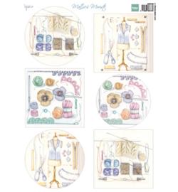Marianne D Knipvel MB0189 - Decoupage - Mattie's Mooiste - Crochet