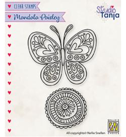 Nellie`s Choice - CSMAN011 - Mandala's Paisley butterfly