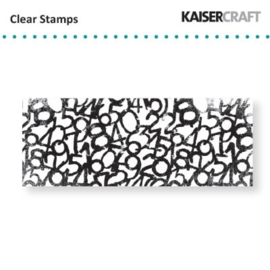 Kaiser Craft Clear Stamps Numerals