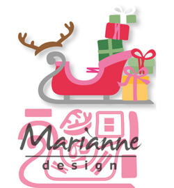 Marianne D Collectable COL1460 - Eline's Sleigh