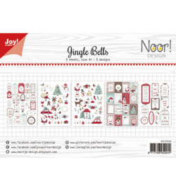 Noor! Design - 6011/0429 - Labelvellen - Jingle Bells