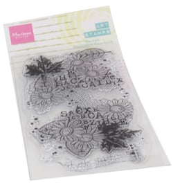 Marianne D - MM1633 - Art stamps Chrysant